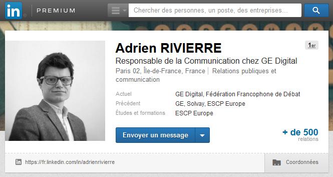 Photo de profil pour LinkedIn