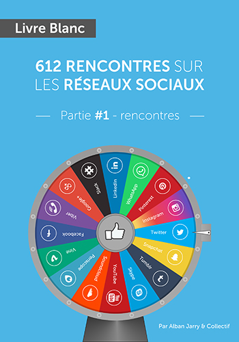 Couverture du Livre Blanc d'Alban Jarry : 612 rencontres sur les réseaux sociaux