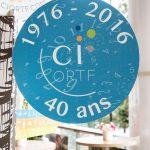 ©Gaël Dupret, France, Paris le 13-10-2016 : 40 ans du CI ORTF / 40 years of CI ORTF  Soirée d'anniversaire pour les 40 ans du CI ORTF au siège de la maison de la radio / Radio France   Birthday party for 40 years of CI ORTF headquarters of the Maison de Radio / Radio France  Photo : signalétique  Safety