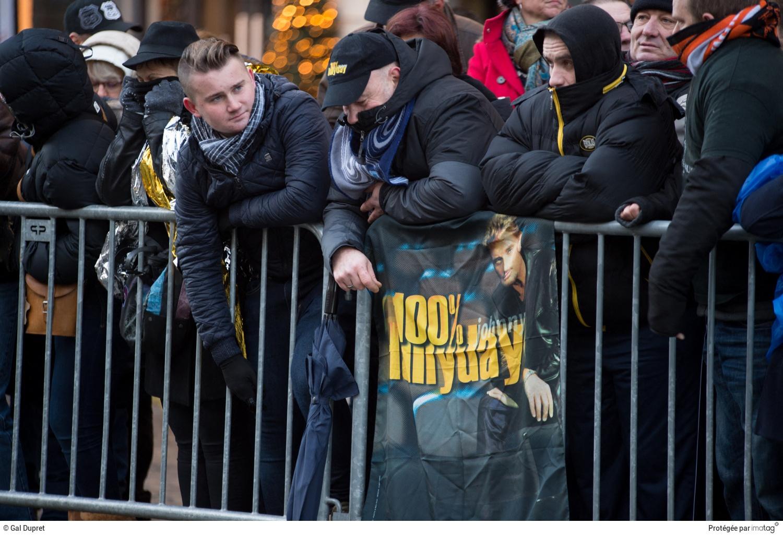 Cérémonie d'hommage à Johnny Hallyday