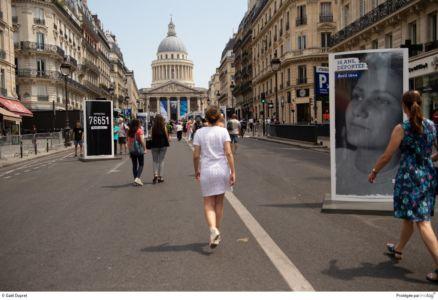 Hommage de la Nation à Simone VEIL, cinquième femme à entrer au Panthéon