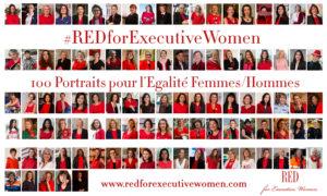 ©Gaël Dupret, France, Suresnes le 05-03-2018 : RED for Executive Women Photo : Portrait des 100 Executive Women qui ont participé au projet RED for Executive Women : Alice VACHET, Aline AUBERTIN, Anne RAVANONA, Anne-Cécile SARFATI, Anne-Léone CAMPANELLA, Anne-Lise DELORON, Anne-Marie ROCCO, Anne-Sophie TUSZYNSKI, Armelle CARMINATI-RABASSE, Aude de THUIN, Béatrice BARBUSSE, Bénédicte TILLOY, Blandine MOUREN, Carole DOMENECH-CABAUD, Carolina SPOREA-GODVIN, Caroline LISFRANC, Cassandre MARITON-SEGARD, Catherine ABONNENC, Catherine LADOUSSE, Chantal NEDJIB, Charlotte GIRARD-FABRE, Chiara CONDI, Chiara CORAZZA, Corinne CUISINIER, Corinne HIRSCH, Coryne NICQ, Cyrielle HARIEL, Daisy DOURDET, Delphine CAROFF, Dipty CHANDER, Dominique COSTANTINI, Dominique CROCHU, Dominique DRUON, Dounia KAMMOUNI-BELGHITI, Elisabeth RICHARD, Elisabeth VUILLAUME, Elodie MORGAN, Emmanuelle JARDAT, Emmanuelle MÖRCH, Fabienne BILLAT, Fatma BOUVET de la MAISONNEUVE, Florence HAXEL, Florence SANDIS, Francesca ACETO, Frédérique BEDOS, Goretty FERREIRA, Hager CHARNI, Hélène SALAÜN, Honorine FILISIKA-KOENIG, Houda ALLAL, Isabella LENARDUZZI, Isabelle BLIN, Isabelle HILALI, Karine LAZIMI-CHOURAQUI, Karine LEJEUNE, Kerstin SCHMIDT, Laura FLESSEL, Laurène de MORTEMART, Lélia GHILINI, Louisa RENOUX, Magali NOE, Magaly SIMEON, Margaux TERROU, Marianne de CIDRAC, Marie ELOY, Marie SEIGNOLLE, Marie-Amélie LE FUR, Marie-Christine LANNE, Marie-Gabrielle PARRAIN, Marie-Mercedes GHENASSIA, Marielle EUDES, Marine de BEAUFORT, Martine Le JOSSEC, Mathilde AUBINAUD, Maya HAGEGE, Mercedes ERRA, Muriel de SAINT-SAUVEUR, Nadalette la FONTA-SIX, Nathalie ROOS, Nelly BROSSARD, Olga JONHSON, Paoline EKAMBI, Pascale BRACQ, Rebecca AMSELLEM, Ronita CHHIM, Sandy BEKY, Sarah DANINTHE, Séverine LIENARD, Stéphanie CARDOT, Suzanne VERLHAC, Sylvaine PARRIAUX, Sylvie JOSEPH, Sylvie ROUSSEL, Thérèse BOUSSARD, Véronique BARRE, Véronique BILLY, Véronique LACAM-DENOEL, Violaine CHAMPETIER de RIBES, Viviane de