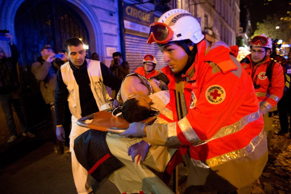 13-11-2015 : Attentat terroriste au Bataclan ©Gaël Dupret/MaxPPP